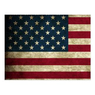 Vintage U.S. Flag Postcard