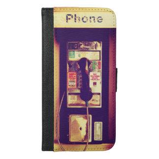 Vintage U.S. Public Pay Phone iPhone 6/6s Plus Wallet Case