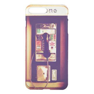 Vintage U.S. Public Pay Phone - Transparent iPhone 7 Plus Case