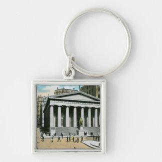 Vintage U.S. Subtreasury, New York City Key Chains