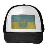Vintage Ucrania Gorros Bordados