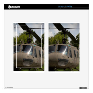 Vintage Uh-1 Huey Military Helicopter Decal For Kindle Fire
