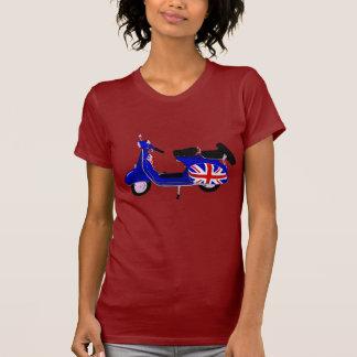 Vintage UJ Blue Scooter Art Tshirt