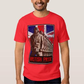 Vintage UK - BRITISH PRIDE - Customizable T-shirt
