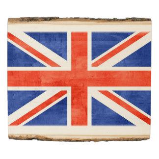 Vintage UK Flag #10 Wood Panel