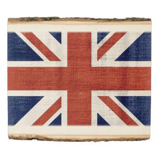 Vintage UK Flag #2 Wood Panel