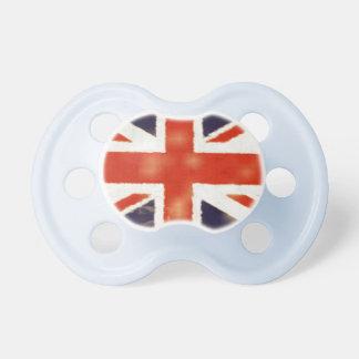 Vintage UK Flag Union Jack Custom Baby Pacifier