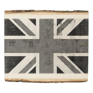 Vintage UK Flag Wood Panel