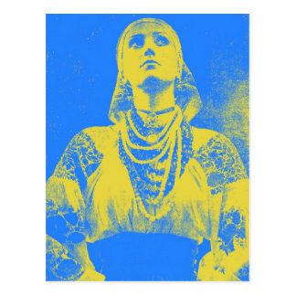 With Ukrainian Women Unlimited Postcards 15