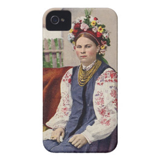 Vintage Ukrainian Woman iPhone 4 Cover