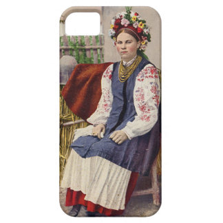 Vintage Ukrainian Woman iPhone SE/5/5s Case