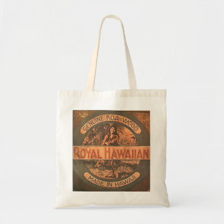 Vintage Ukulele Label Bag