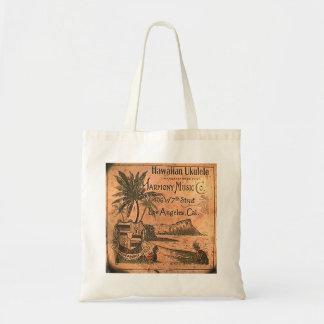 Vintage Ukulele Label Tote Bag