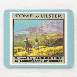 Vintage Ulster Londonderry Mousepad