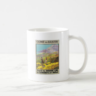 Vintage Ulster Londonderry Classic White Coffee Mug