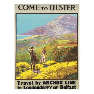 Vintage Ulster Londonderry Post Card