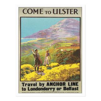 Vintage Ulster Londonderry Postales