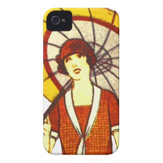 Vintage Umbrella iPhone 4 Cover