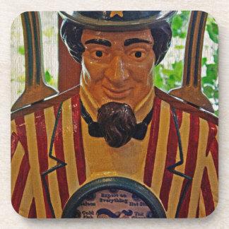 Vintage Uncle Sam Drink Coaster