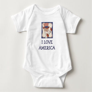 Vintage Uncle Sam/ I LOVE AMERICA Tshirts
