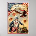 Vintage Uncle Sam Print