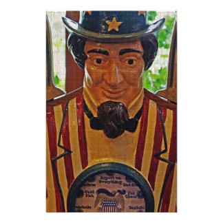 Vintage Uncle Sam Stationery