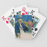 Vintage Uncle Sam USA Playing Cards Customize!