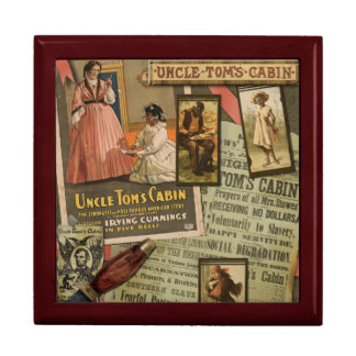 Vintage Uncle Tom's Cabin Jewlery Box