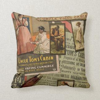 Vintage Uncle Tom's Cabin Pillow