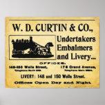 Vintage Unders - Embalmer Poster