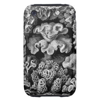VINTAGE UNDERWATER CORAL DRAWING TOUGH iPhone 3 COVER