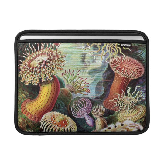 Vintage Underwater Coral & Sealife painting MacBook Sleeve