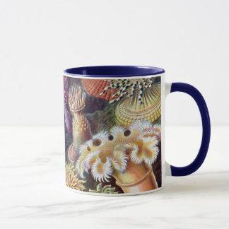 Vintage Underwater Sea Anemones by Ernst Haeckel Mug