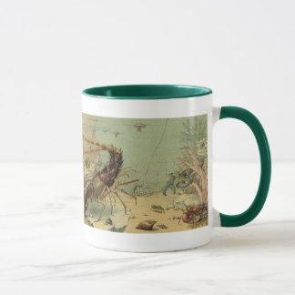 Vintage Underwater Sea Life, Animals in the Ocean Mug