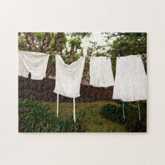 Vintage underwear laundry jigsaw puzzle