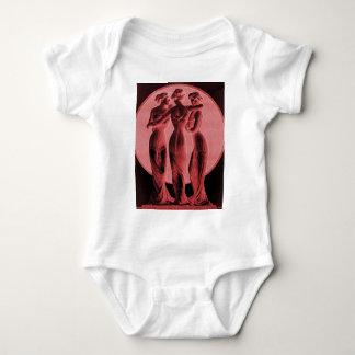 Vintage underwear, Three Graces Baby Bodysuit