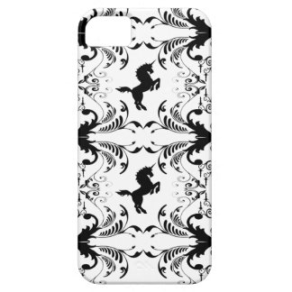 Vintage unicorn chandelier pattern iPhone 5 covers