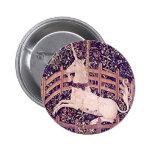 Vintage Unicorn In Captivity Tapestry Pin