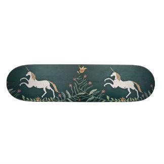 Vintage unicorn skateboard deck