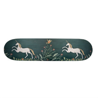 Vintage unicorn skateboard deck