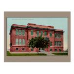 Vintage Union High School, Red Bluff, CA Postcard