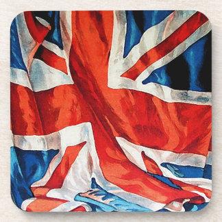 Vintage Union Jack British Flag Coasters