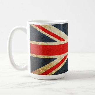 Vintage Union Jack British Flag Coffee Mug