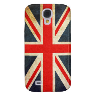 Vintage Union Jack British Flag Galaxy S4 Cover