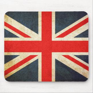 Vintage Union Jack British Flag Mouse Pad