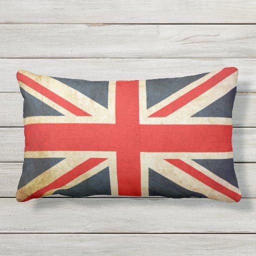 Schoudertas Union Jack : Vintage union jack british flag outdoor pillow zazzle