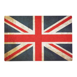 Vintage Union Jack British Flag Placemat