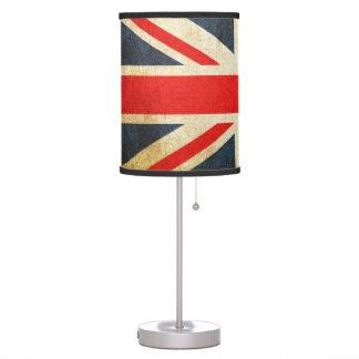 Vintage Union Jack British Flag Table Lamp