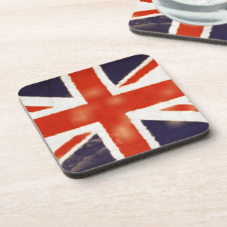 Vintage Union Jack Coaster Set
