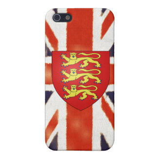 Vintage Union Jack Coat of Arms  iPhone SE/5/5s Cover